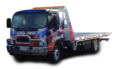 Tilt Tray Truck Towing by Aldinga Towing