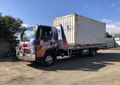 Hire or sale of new and used shipping containers