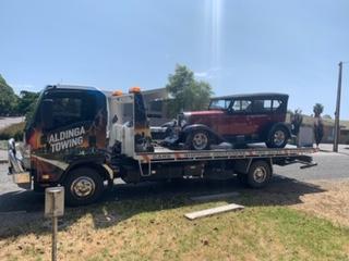 A 1929 Chevrolet Tourer tilt truck Normanville